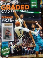 Beckett~Graded Card~Price Guide~17th Edition~2020~GIANNIS ANTETOKOUNMPO