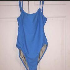 New listing Hydra Swim  One Piece Swimsuit Size 10 blue