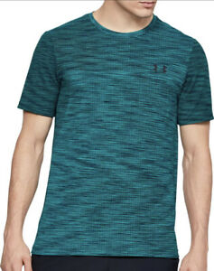 Under Armour Vanish Seamless Short Sleeve Mens Training Top - Green Small