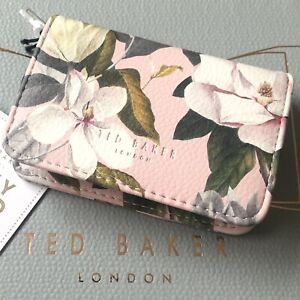 TED BAKER Nail Clippers File Scissors and Tweezers Pink Opal Manicure Set BNWT