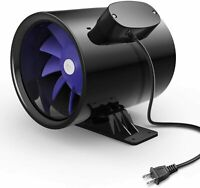 iPower 4/6 Inch Silent Inline Duct Ventilation Booster Fan Vent Exhaust Blower