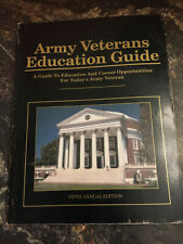 Army Veterans Educational and Career Guide book