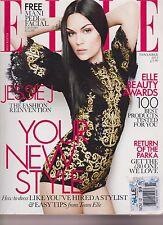 ELLE FASHION MAGAZINE UK NOV 2012, JESSIE J, THE FASHION REINVENTION.