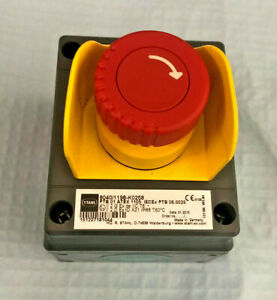 Stahl 8040/1198-K0228 E-Stop / Emergency Stop  / Switch / ATEX Made Germany