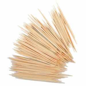 800Pcs Tooth Picks Double Pointed Oral Care Toothpick Appetizer Sticks US Seller