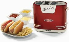 ARIETE PARTY TIME HOT DOG MAKER PARTY COMPLEANNO RISCALDA PANINI wurstell 650 Watt