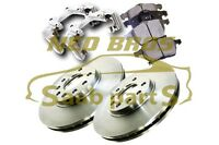 Pagid Front Brake Upgrade Kit for Saab 900 9-3 9-5, 308MM Discs, Carriers