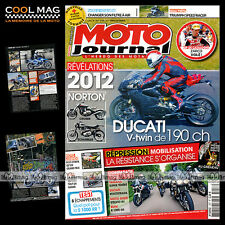 MOTO JOURNAL N°1957 BMW R1200 GS DUCATI MULTISTRADA S TOURING GUZZI STELVIO NTX