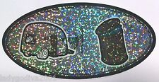 Large Sticker- Trailer Trash -metallic/holographic-Bumper Sticker-FREE Shipping