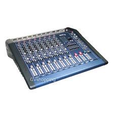 MIXER PROFESSIONALE ATTIVO AMPLIFICATO 8 CH. CANALI KARAOKE CON EFFETTI PER DJ