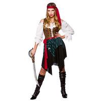 NEW Caribbean Pirate - Ladies Pirates Fancy Dress Halloween Costume