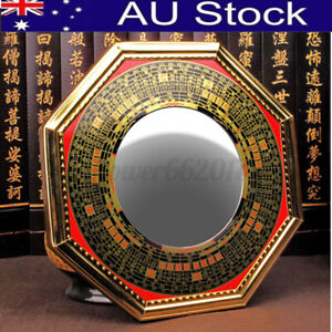 5'' Chinese Oriental Protection Feng Shui Home House Convex Bagua Mirror Gift AU