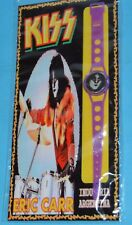 KISS Eric Carr ROCK WATCH PLASTIC COLLECTIBLE TOY ARGENTINA