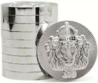 1 x 2 oz .999 Silver STACKER ROUND by Scottsdale Mint - 2 oz .999 Silver Coin
