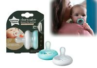 Tommee Tippee Baby Newborn Breast Like Soothers Dummy 0-6m / 6-18m 2Pk