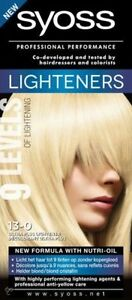 13-0 Syoss Ultra Lightener without brassy tones, formula with nutri-oil
