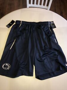 Penn State PSU Football Team-Issued On-Field Authentic Nike Brand New XL Shorts