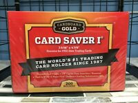 Cardboard Gold PSA Graded Card Saver 1 - 200 Ct Holders w/ Storage Box