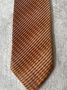 RARE Brioni Mens Silk Tie with Ruffles - NWOT