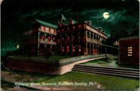Postcard Highland House Neversink Mountain Reading Pa