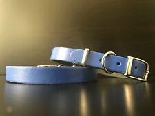 Chihuahua Yorkshire Terrier de Poméranie chiot en cuir unique Blue Collar