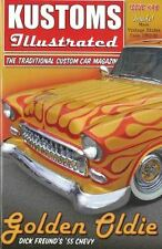 Kustoms Illustrated magazine #48. 1956 Mercury. 1955 Chevrolet Bel Air.
