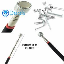 Portable Telescopic Easy Magnetic Pick Up Rod Tool Stick Extending Top Quality