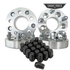 "4 Jeep Wheel Adapters + 20 Lug Nuts for 5x4.5 to 5x5 1.25"" (32mm) Jk to TJ YJ XJ"