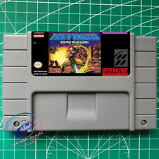 Super Metroid  Zero Mission USA version SNES Super nintendo FREE SHIPPING