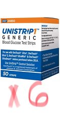 UniStrip 300 Test Strips Use w/ Onetouch Ultra Meters-Freaky Fast Shipping �