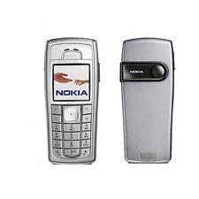100% Nokia 6230i - Silver/Black (Unlocked) Cellular Phone Classic Mobile Phone