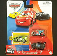 Disney Cars 3 Mini Racers Next Gen Chase Racelott Paul Conrev Jackson Storm Toys