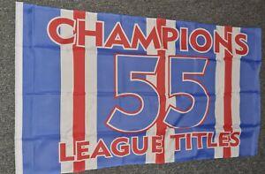 Rangers 55 Flag 5x3