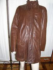 Giacca giaccone in vera pelle tg 56 di Piccini mod Chevrette disegno Timberland