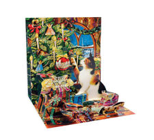 Up with Paper Pop Up Greeting Card - Christmas Mischief