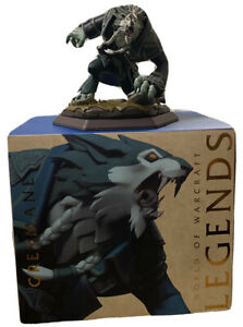 """Blizzard Legends: World of Warcraft Greymane Statue WOW Grey Mane Vinyl 7"""" NEW"""