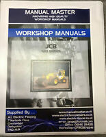 JCB Loadall 520,525,530,540 Telehandler  Workshop Manual, - FREE DELIVERY