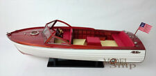 """Handcrafted Chris Craft Sea Skiff 26"""" Display Model Scale 1:10 NEW"""