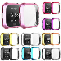 For Fitbit Versa/Lite Protect Case Cover Plating TPU Screen Protector Case Cover
