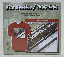 The Beatles – 1962-1966 - 2 CD Lt Ed XL T-Shirt USA - SEALED MINT NEW