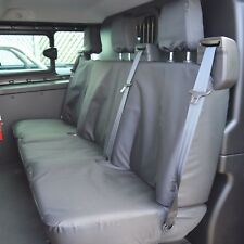 Ford Transit Custom CREW CAB Waterproof Heavy Duty Tailored Seat Covers Black