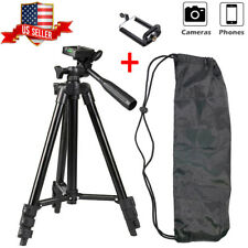 360° Camera Tripod Stand Holder Mount Portable For iPhone Samsung Cell Phone Lg