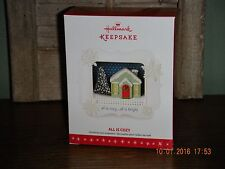 2016 Hallmark Ornament  ~ALL IS COZY~  SPECIAL LIGHTING EFFECT            (2017