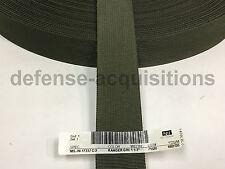 1.5 INCH MilSpec Military Webbing MIL-W-17337 C/2 RANGER GREEN Per Yard