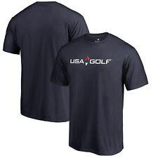 USA Golf Fanatics Branded Primary Logo T-Shirt - Navy