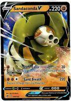 Sandaconda V 108/192 - Ultra Rare - Pokemon Sword and Shield Rebel Clash