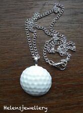 GORGEOUS HANDMADE GOLF BALL NECKLACE + FREE GIFT BAG