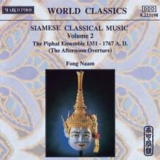 THAILAND Fong Naam, Vol. 2: The Piphat Ensemble, New Music