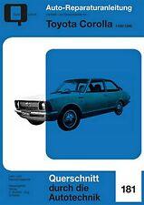 Reparaturanleitung Toyota Corolla 1100 / 1200 E10 - Baujahre 1966 bis 1970!