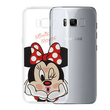 Coque Housse Silicone TPU Ultra-Fine Minnie Mouse pour Samsung Galaxy S8 5.8""